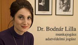 Dr Bodnál Lilla - munkajogász, adatvédelmi jogász